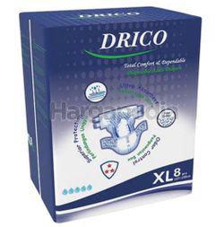 Drico Adult Diaper XL8