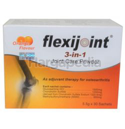 Flexijoint 1500mg 3in1 Joint Care Powder 30x5.5gm