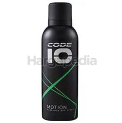 Code 10 Deodorant Spray Motion 150ml