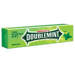 Wrigley's Doublemint Chewing Gum 5s