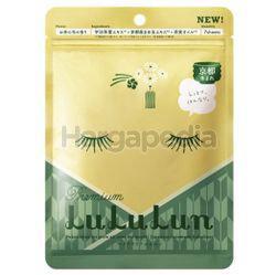 LuLuLun Matcha Toner Mask 7s