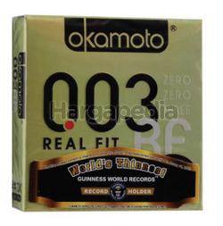 Okamoto 003 Real Fit Condom 3s