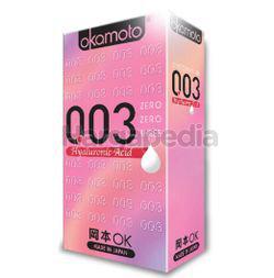 Okamoto 003 Hyaluronic Acid Condom 6s