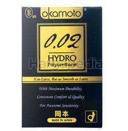 Okamoto 002 Hydro Polyurethane Condom 3s