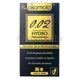 Okamoto 002 Hydro Polyurethane Condom 6s