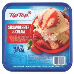 Tip Top Ice Cream Strawberry 2lit
