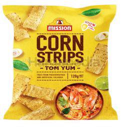 Mission Corn Strips Tom Yum 120gm