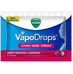 Vicks VapoDrops Lozenges Berry Menthol 6s