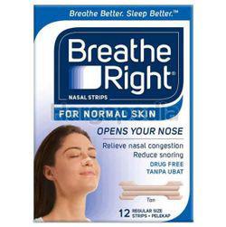 Breathe Right Nasal Strips Normal Skin 12s