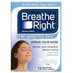 Breathe Right Nasal Strips Sensitive 12s