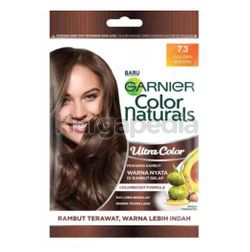 Garnier Color Naturals Ultra Color 7.3 Golden Brown Sachet 1s