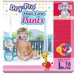Dry-Pro Baby Pants Diapers L18