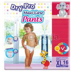 Dry-Pro Baby Pants Diapers XL16