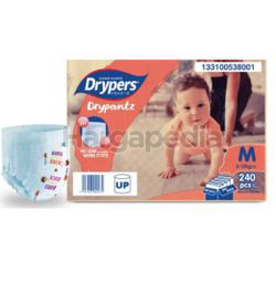 DryPantz Baby Diaper Mega Pack 4xM60