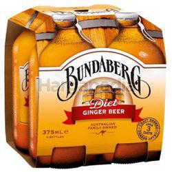 Bundaberg Diet Ginger Beer 4x375ml