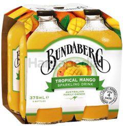 Bundaberg Tropical Mango 4x375ml
