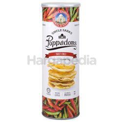Uncle Saba's Poppadoms Sweet Chilli 70gm
