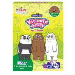 Super Kids Vitamin Jelly Fiber 14x10gm