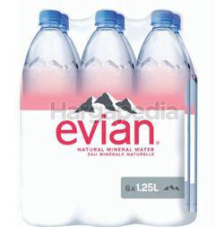 Evian Mineral Water 6x1.25lit