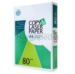 Copy & Laser A4 Paper 80gsm 500s
