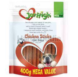 Jerhigh Chicken Sticks 400gm