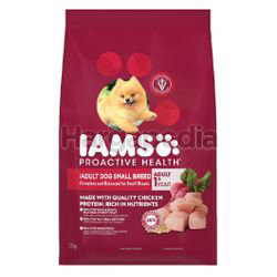 IAMS Dog Dry Food Adult Dog Small Breed Chicken 1.5kg
