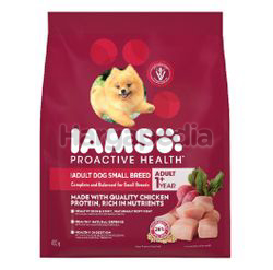 IAMS Dog Dry Food Adult Dog Small Breed Chicken 450gm