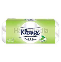 Kleenex 2-Ply Fresh & Clean Toilet Roll 10s