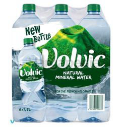 Volvic Natural Mineral Water 6x1.5lit
