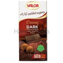 Valor Chocolate Dark with Truffle Cream 100gm