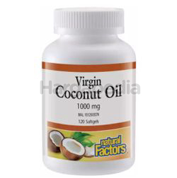 Natural Factors Virgin Coconut Oils 1000mg 120s