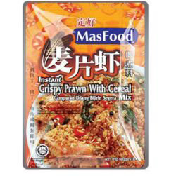 MasFood Instant Crispy Prawn with Cereal Mix 80gm