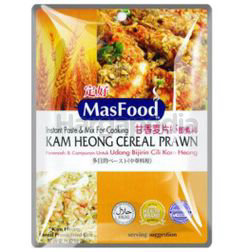 MasFood Kam Heong Cereal Prawn Instant Paste & Mix for Cooking 85gm