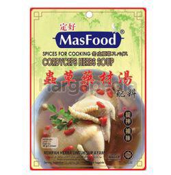 MasFood Cordyceps Herbs Soup Spices 35gm