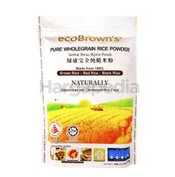 Eco Brown's Wholegrain Rice Powder 500gm