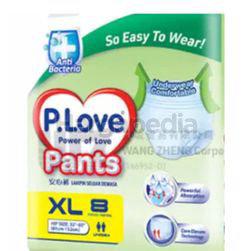 P.Love Adult Pants XL8