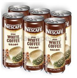 Nescafe Can Ipoh White Coffee 6x240ml