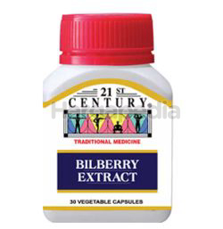 21st Century Bilberry Extract 30s