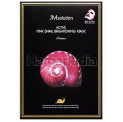 JM Solution Active Pink Snail Brightening Mask 30ml 10s