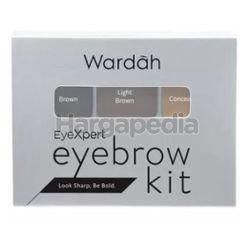 Wardah EyeXpert Eyebrow Kit 1s