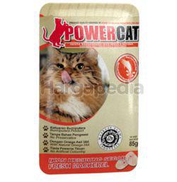 Power Cat Cat Food Fresh Mackerel 85gm