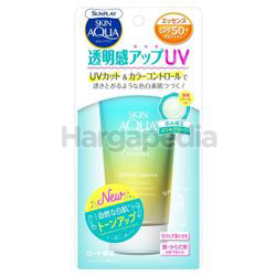 Sunplay Skin Aqua Tone Up UV Essence SPF50 Mint Green 80gm