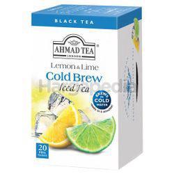 Ahmad Tea Cold Brew Iced Tea Lemon Lime 20s