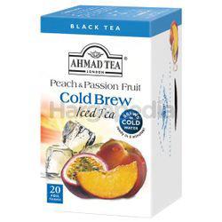 Ahmad Tea Cold Brew Iced Tea Peach Passion 20s