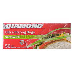 Diamond Zipper Bags Sandwich 50s