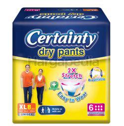 Certainty DryPants XL8