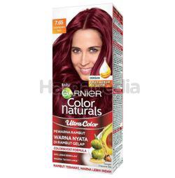 Garnier Color Naturals Ultra Color 7.65 Raspberry Red Kit 1s