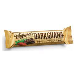 Whittaker's Chunks Dark Ghana 50gm