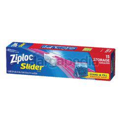 Ziploc Ez Zip Storage Gallon 15s