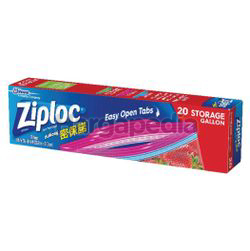 Ziploc Ez Zip Storage Gallon 20s